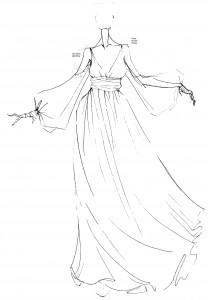 evening dress ...